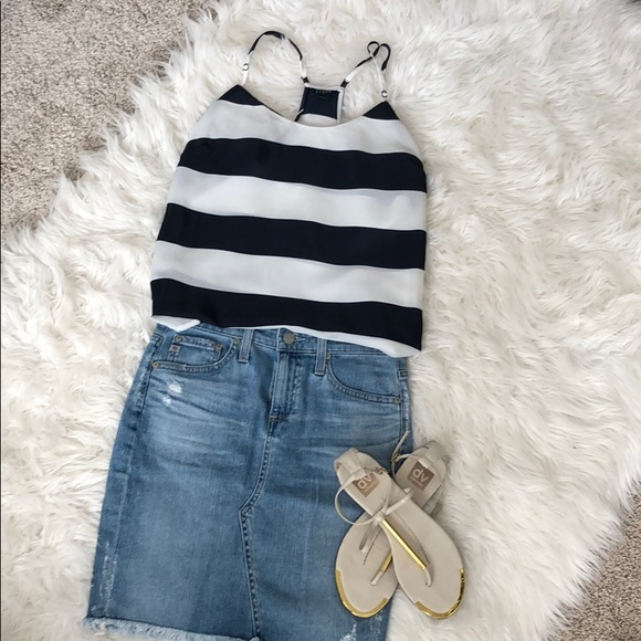 J. Crew Tops - J.Crew Striped Camisole